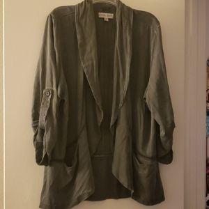 Women's soft casual blazer